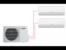 Mitsubishi Electric MSZ-HJ25VA-ER1 + MSZ-HJ35VA-ER1 / MXZ-2HJ40VA-ER1